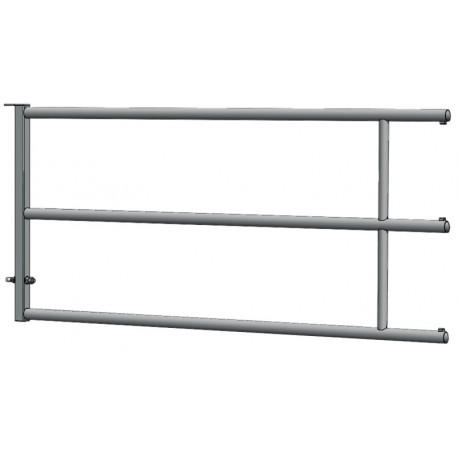 Panneau arrière fixe pour barrière de stabulation 2/3 m