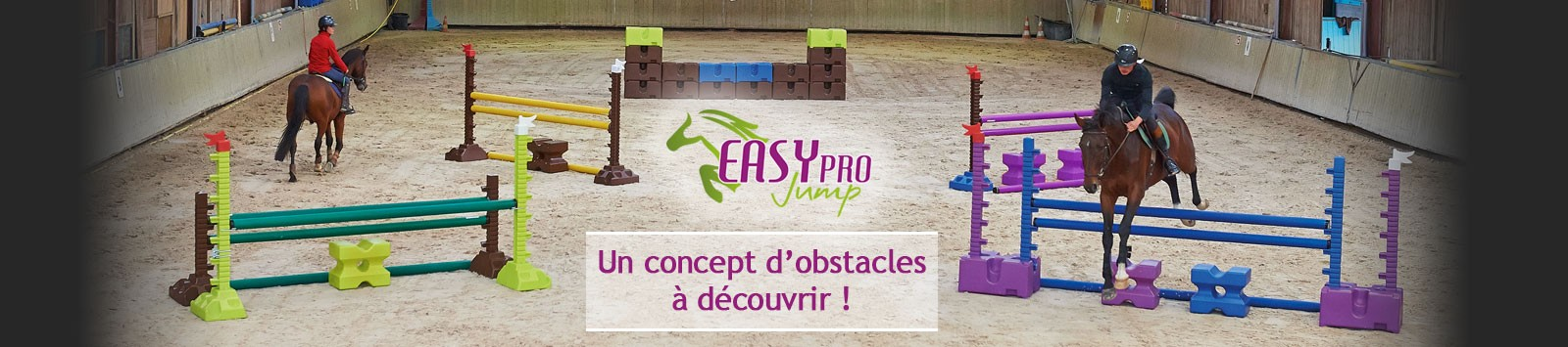Concept d'obstacles Easy Pro Jump