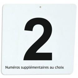 Numéro pour maniabilité