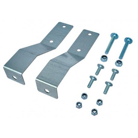 Protection métallique pour brouette et remorque