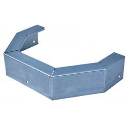 Protection metallique pour mangeoire d'angle 21 L