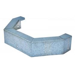 Protection metallique pour mangeoire d'angle 36 L