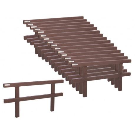 Jeu de barrieres pour rond de longe résine Ø 10 m