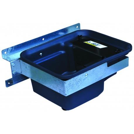 Abreuvoir Polybac 30 M simple avec rebord à cordon et support de fixation