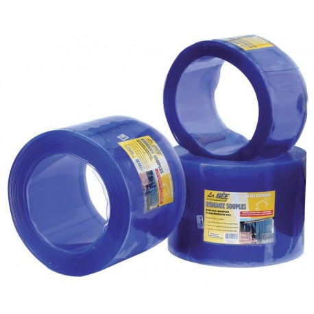 Rideaux à lanières PVC larg. 20 cm