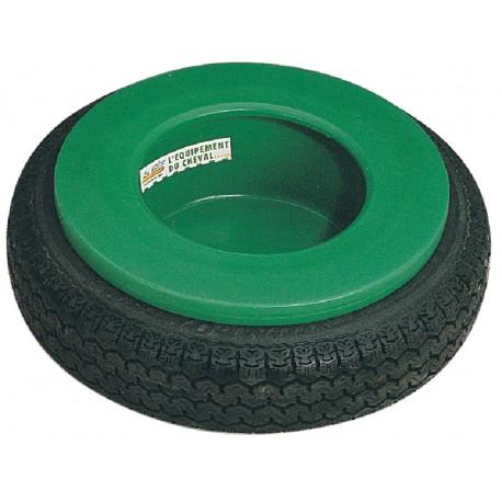 Mangeoire circulaire de prairie à pneu