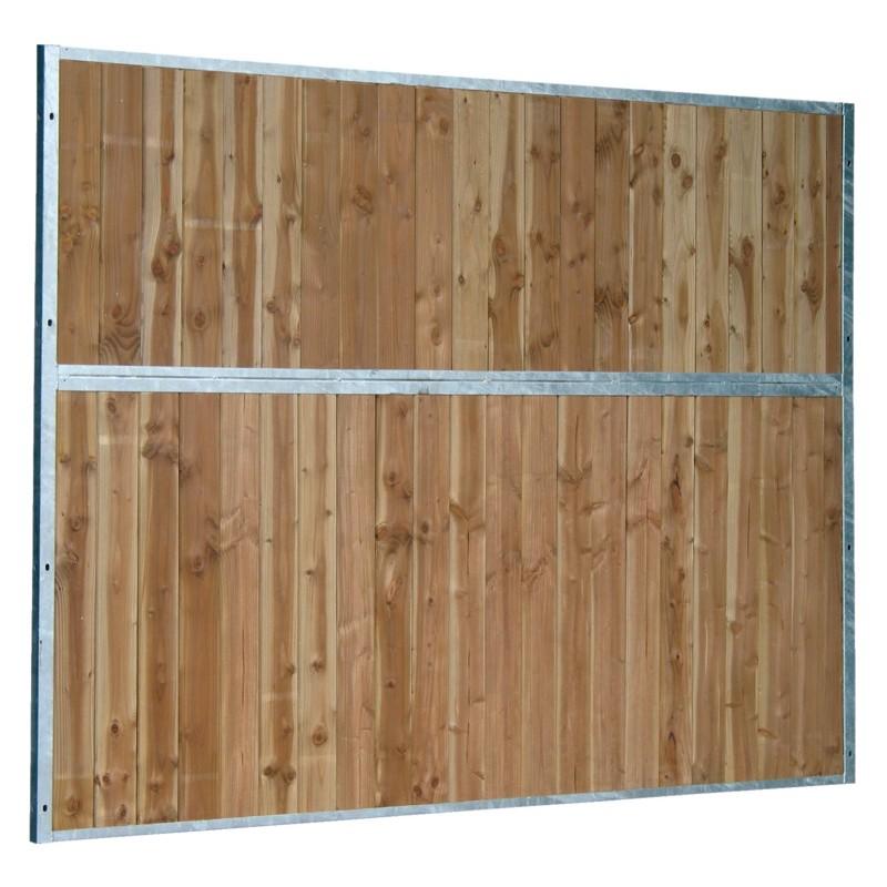 s paration de box fixe pleine bois 0 5 m p1250301 la g e l quipement du cheval. Black Bedroom Furniture Sets. Home Design Ideas