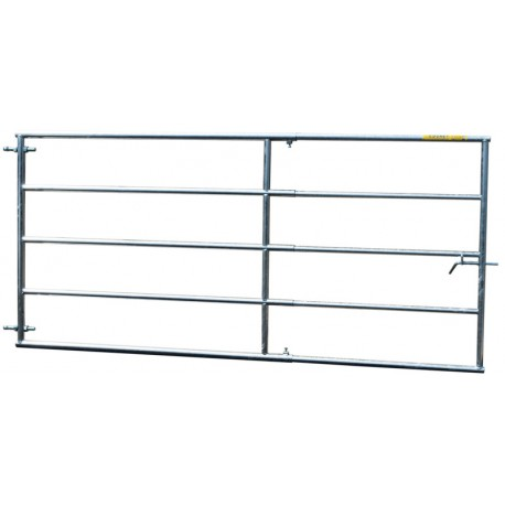 Porte de paddock extensible 2/3 m