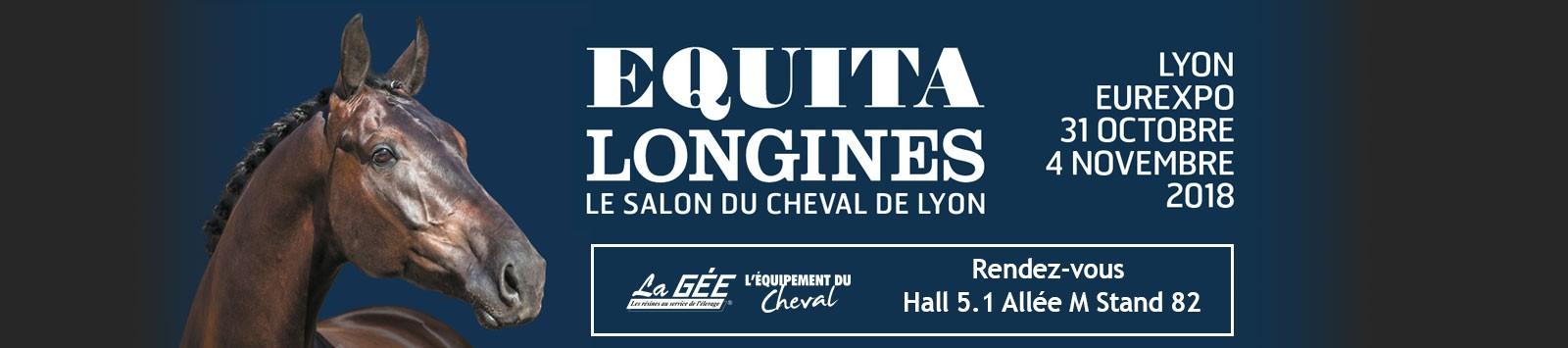 La Gée, l'équipement du cheval présent au salon Equitalyon 2018